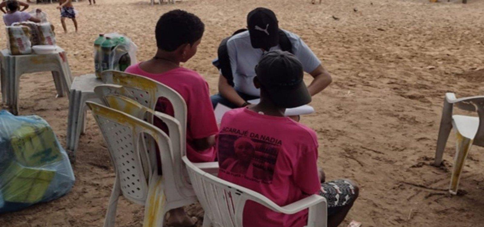 Estabelecimentos são notificados por explorar mão de obra infantil em praias de Salvador e região metropolitana