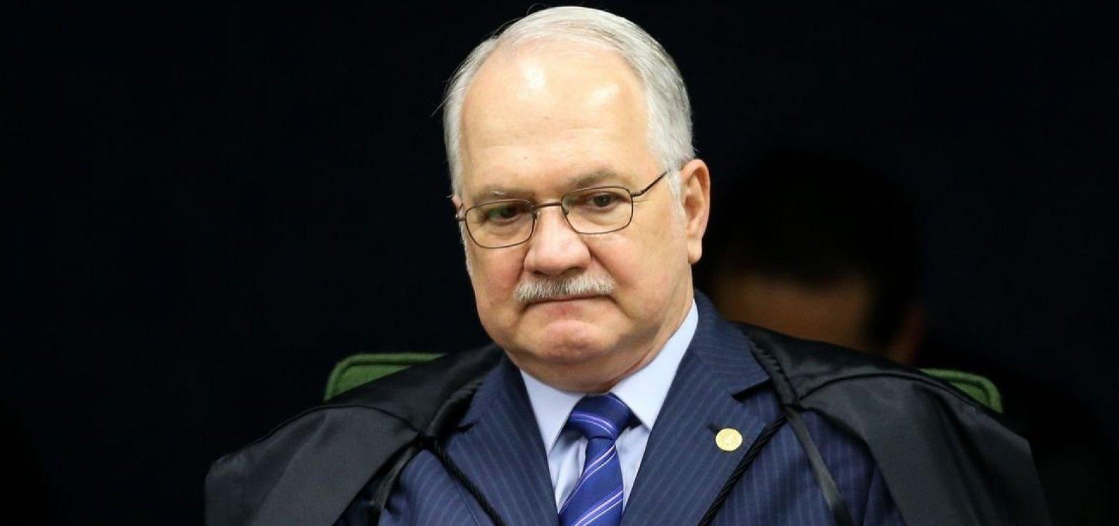 Fachin critica pressão de militares sobre STF: 'Intolerável e inaceitável'