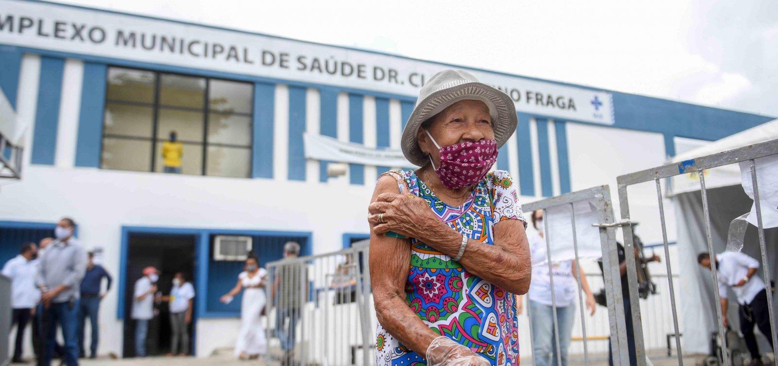Bahia tem mais de 376 mil pessoas vacinadas contra Covid-19