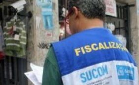 Sucom apreende mais de mil bebidas em depósito clandestino no Comércio
