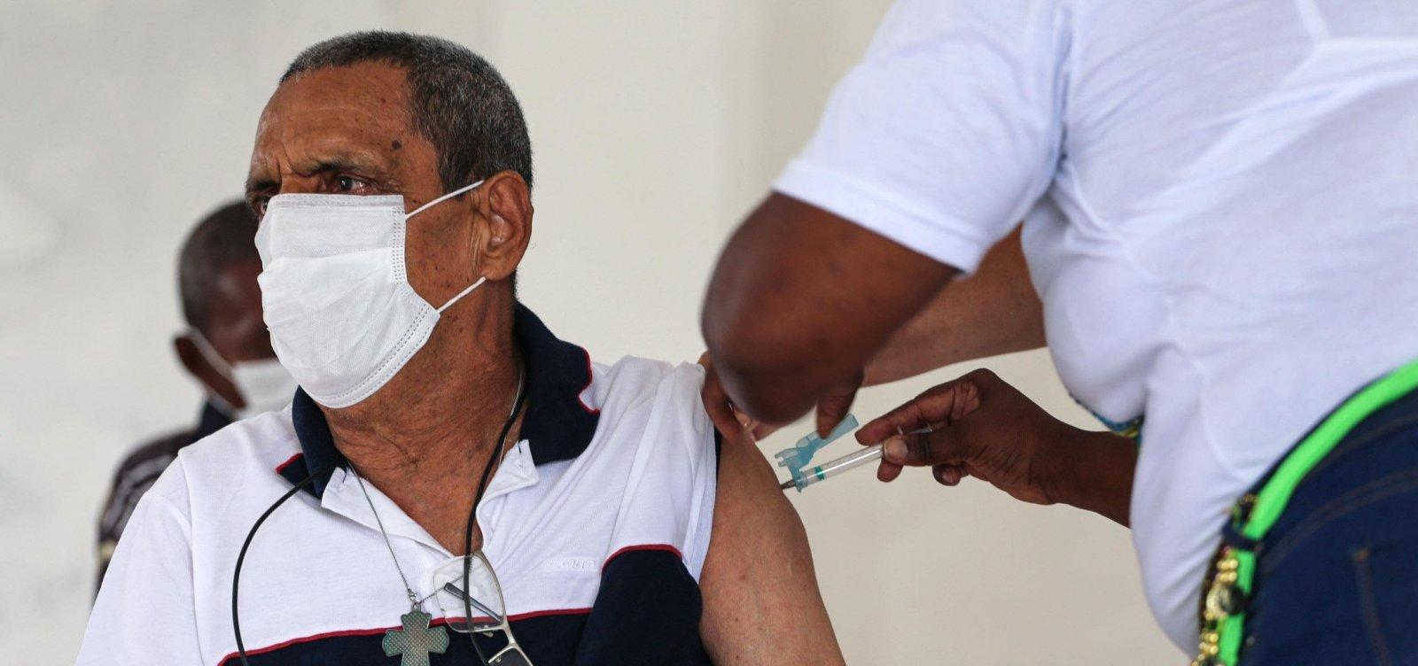Bahia tem 378.843 pessoas vacinadas contra Covid-19