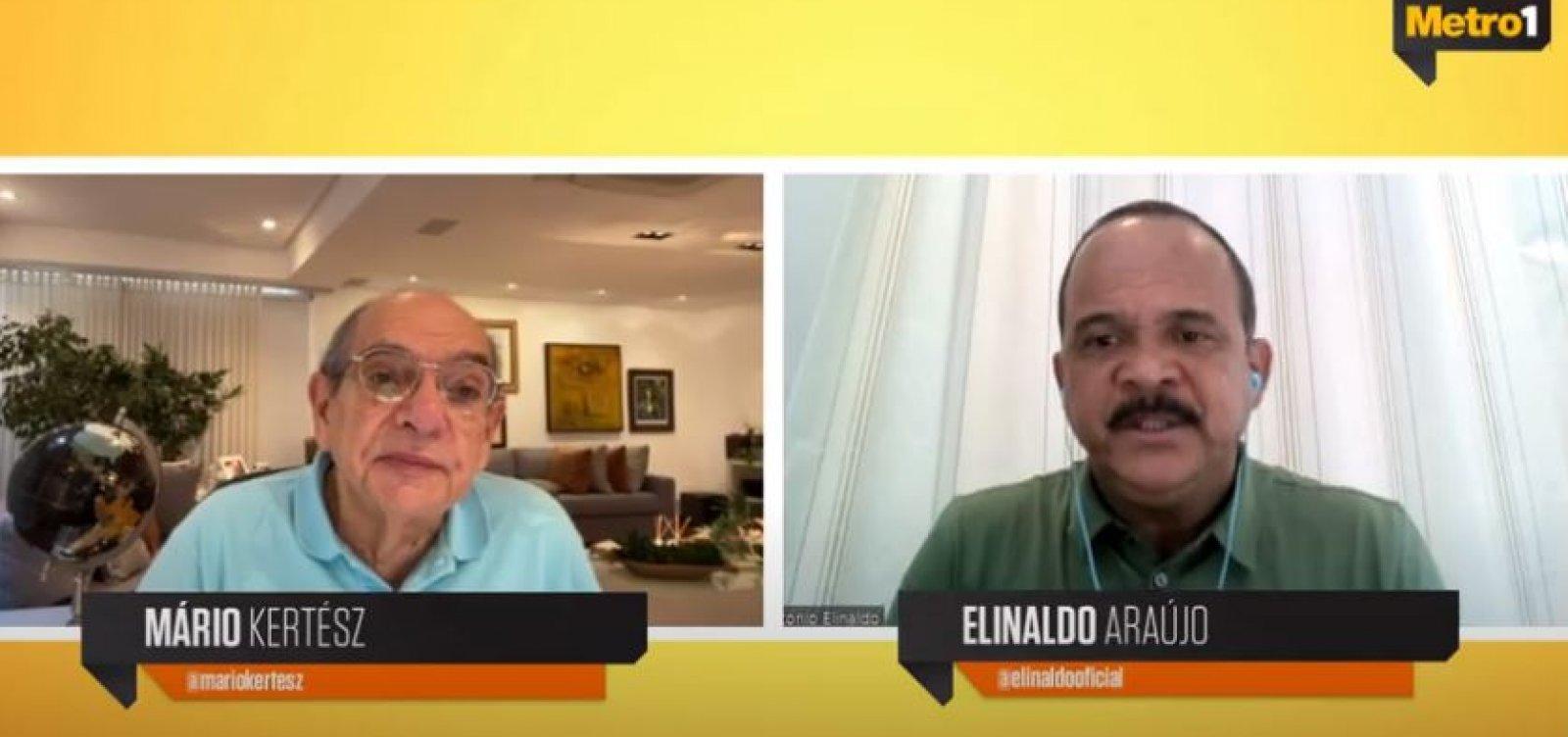 Elinaldo diz que toque de recolher deveria ser imediato em toda a Bahia