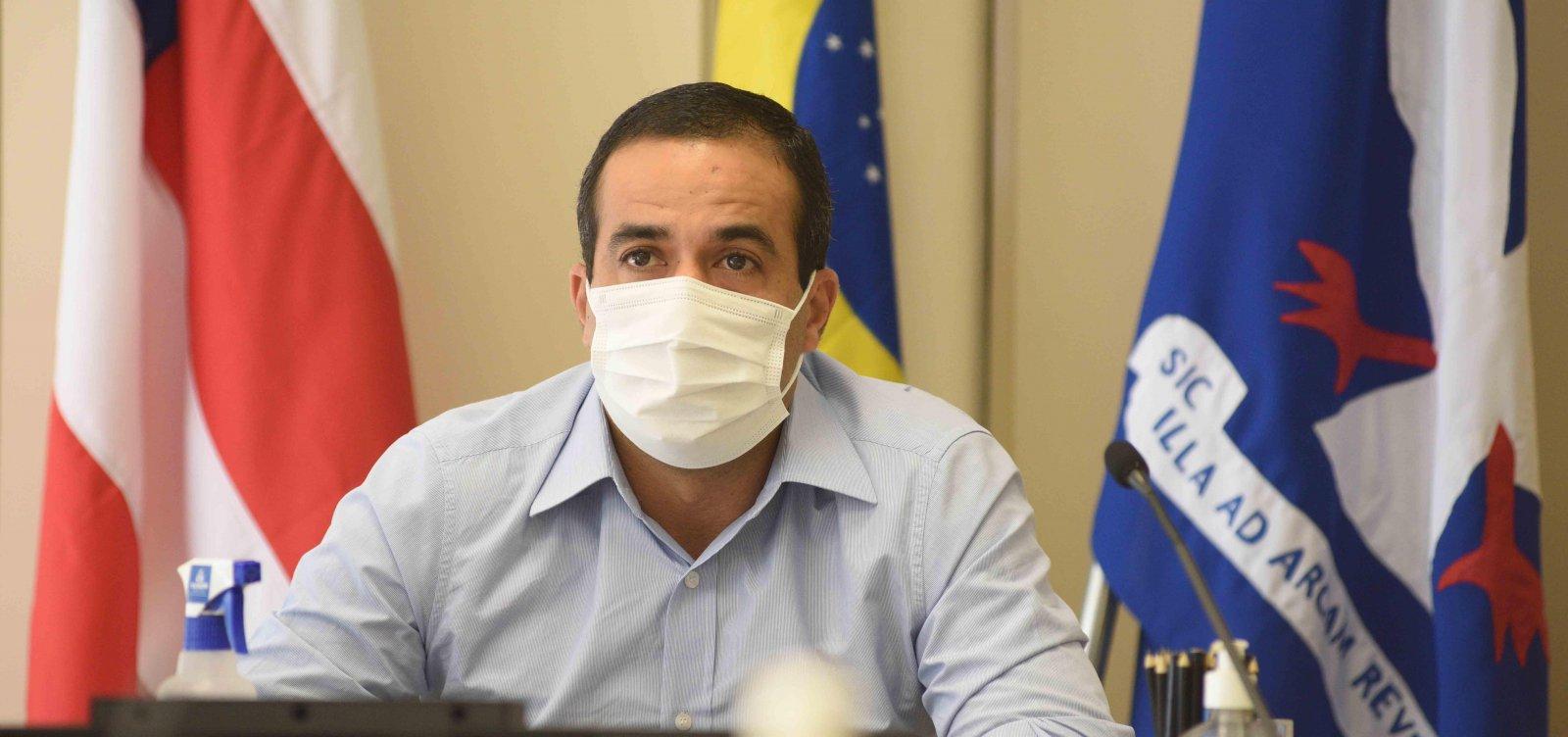 Salvador vive pior momento da pandemia, diz Bruno Reis; vacinas devem chegar dia 23
