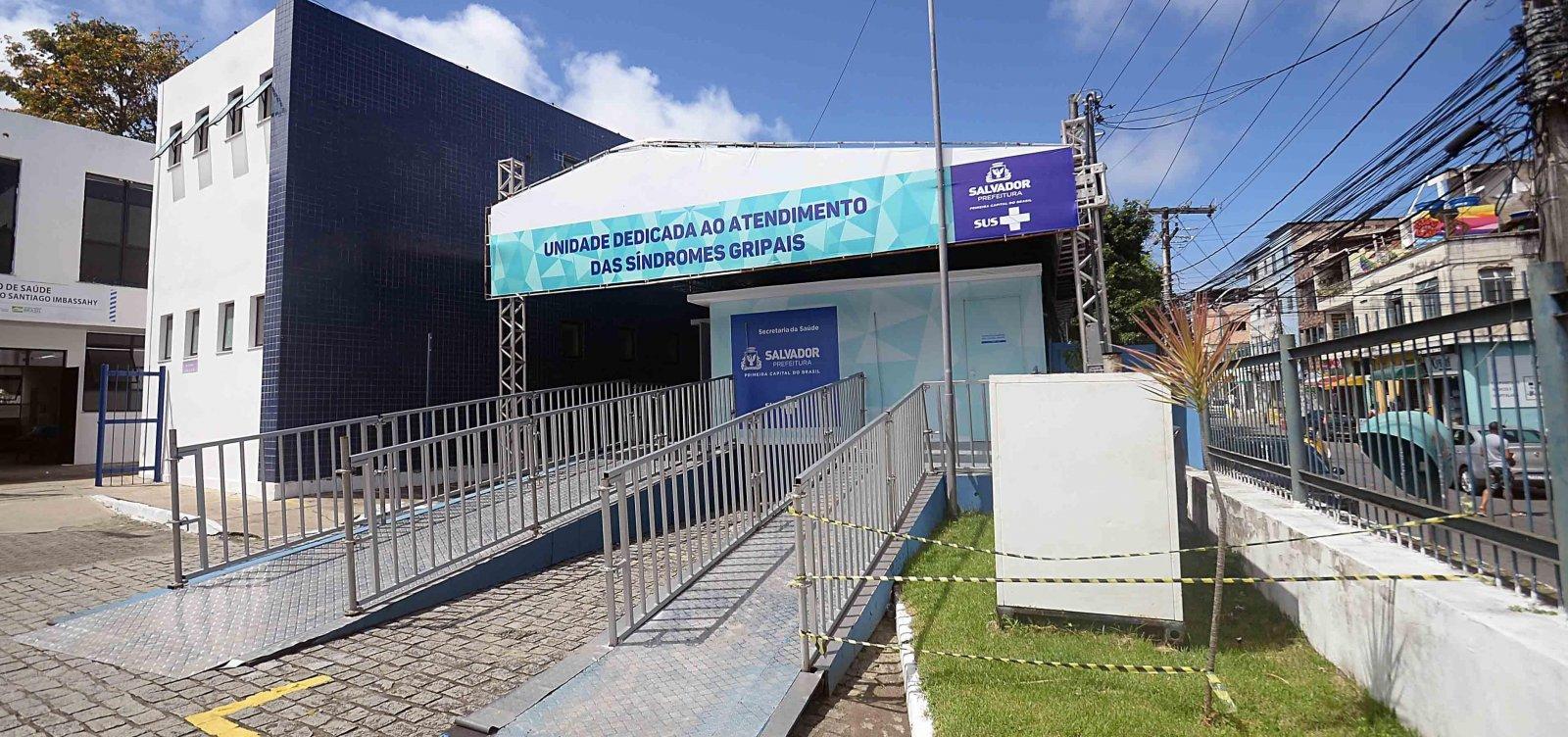 Gripários de Salvador já atenderam quase 25 mil pacientes em menos de dois meses de 2021