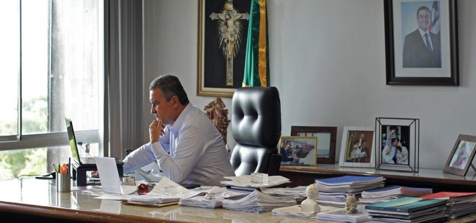 'Que haja celeridade na definição das novas vacinas', diz Rui após reunião com Pazuello