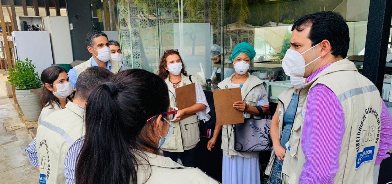 Covid-19: Vigilância Sanitária de Salvador intensifica fiscalização para cumprimento de protocolos