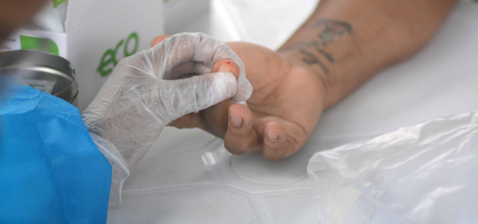 Covid-19: Pernambués, Fazenda Grande do Retiro e Boca do Rio registram 26% de diagnósticos positivos