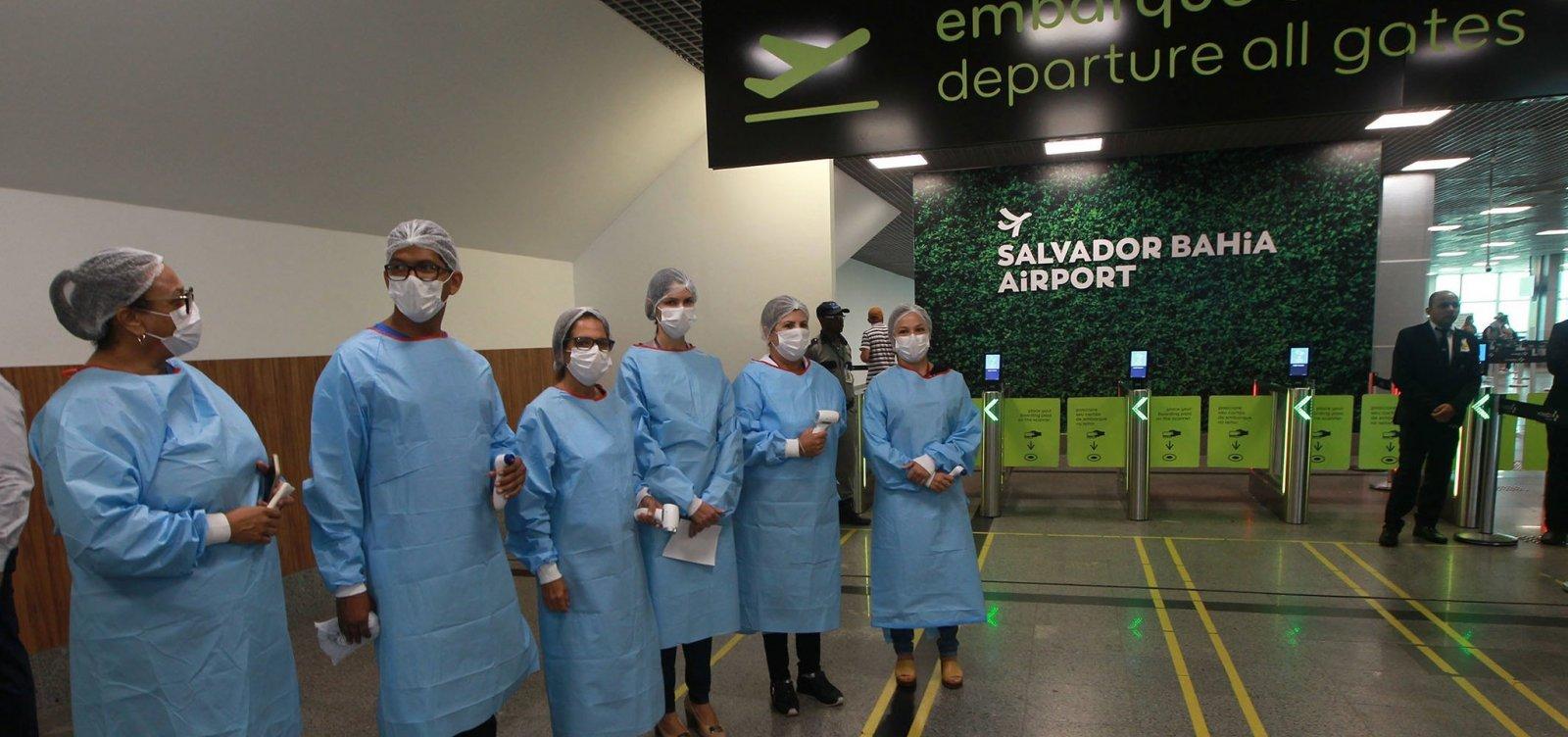 Toque de recolher não irá interferir em viagens agendadas no Aeroporto de Salvador