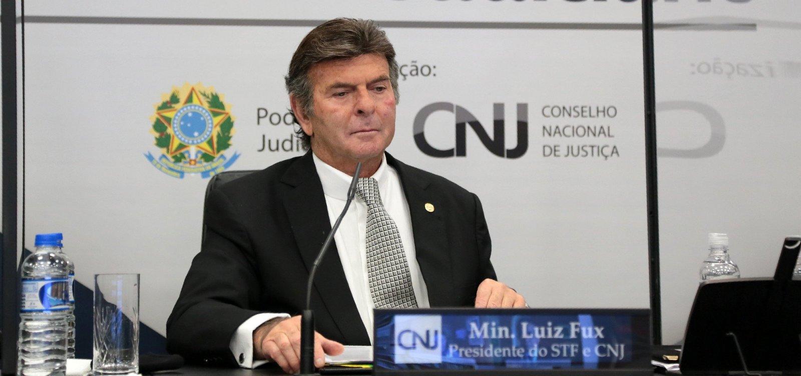 'A sociedade não está preparada', opina Fux sobre possível veto da Câmara à prisão de deputado bolsonarista