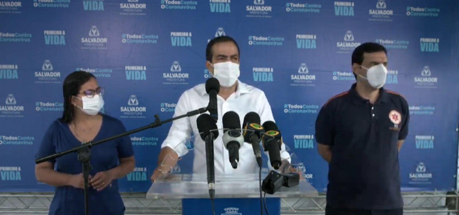 Covid-19: prefeito diz não ver necessidade de reabrir hospital de campanha do Wet N' Wild