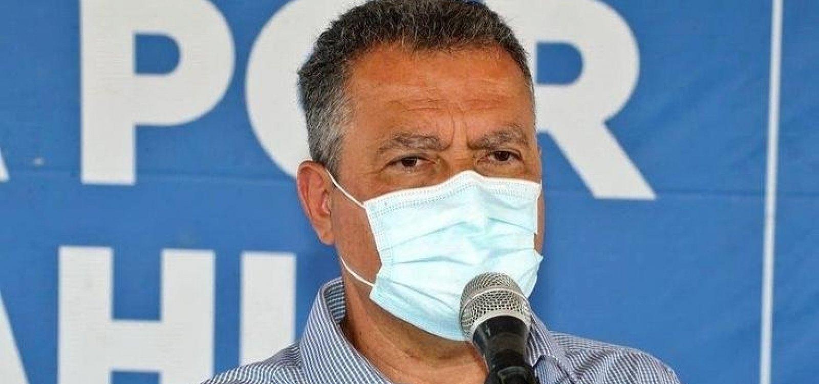'Não dá para confiar no cronograma anunciado pelo governo federal', diz Rui Costa