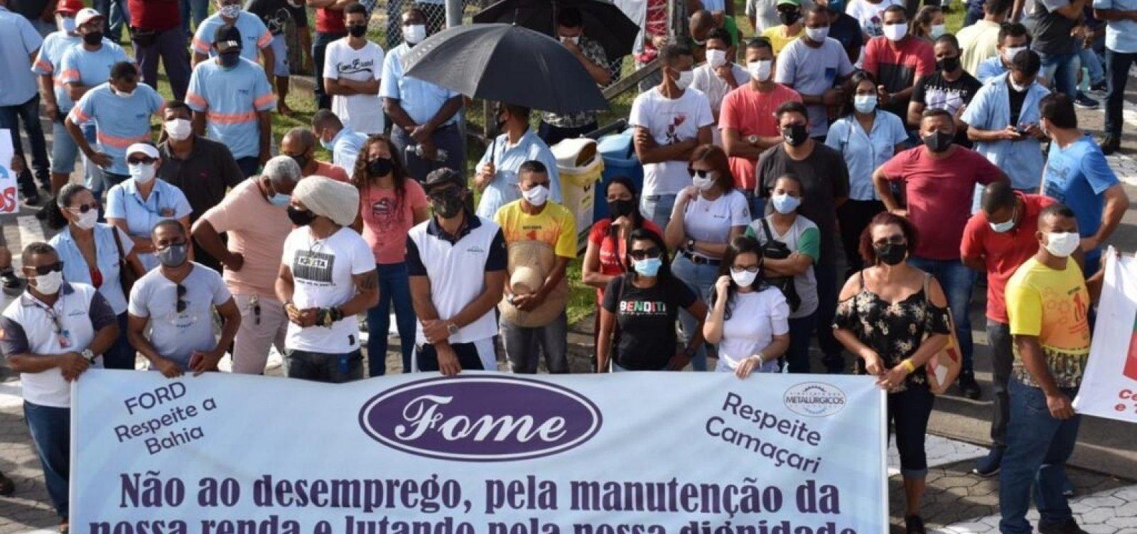 Sindicato dos Metalúrgicos de Camaçari estende negociação com a Ford por mais 90 dias