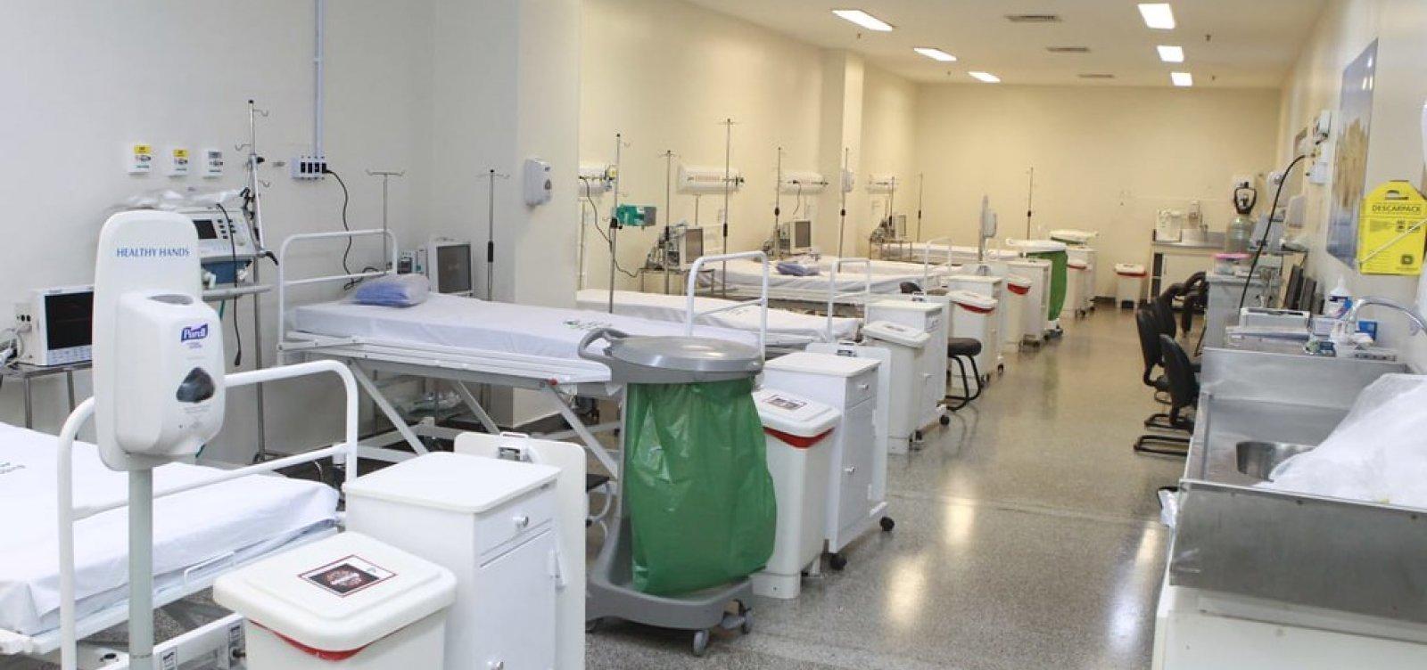 Bahia atinge maior número de pacientes internados em UTIs por Covid-19 desde o início da pandemia