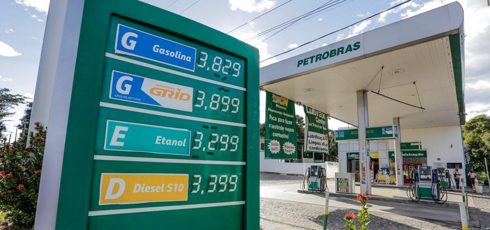 Isenção de impostos prometida por Bolsonaro só dará alívio de R$ 0,34 no preço do diesel