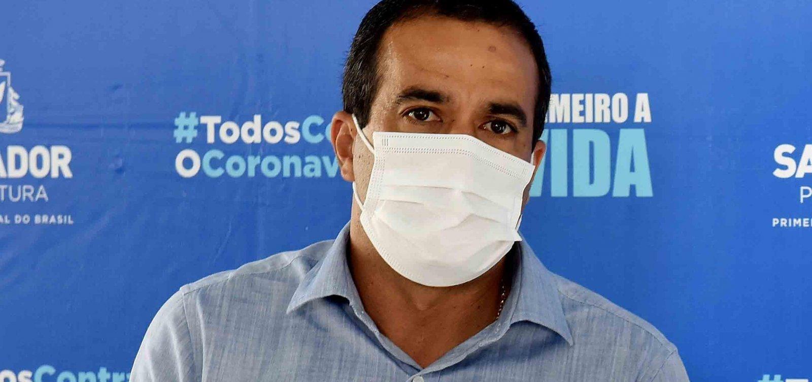 Bruno Reis solicita a Pazuello repasse financeiro para ajudar a manter leitos de UTI