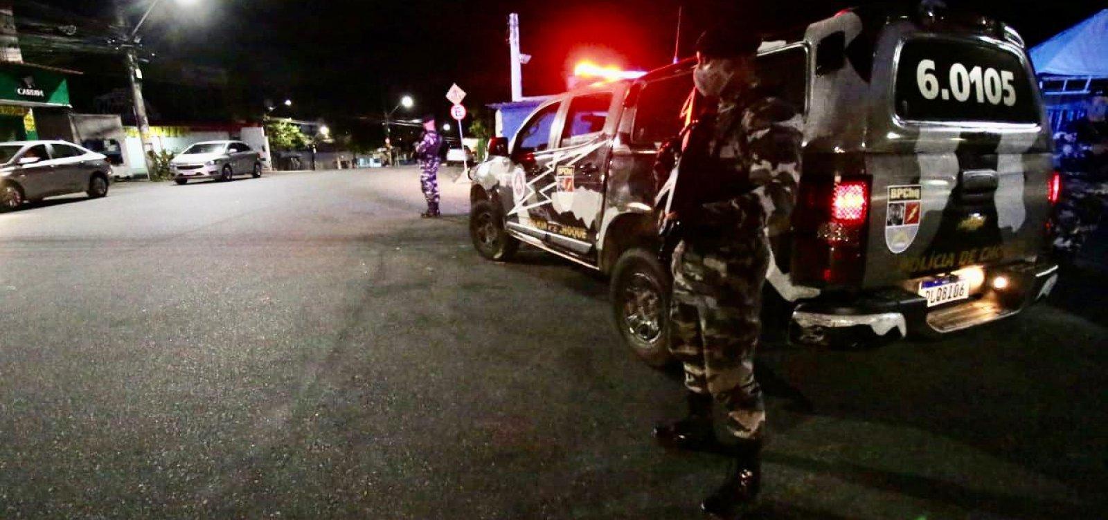 Vinte e três pessoas são autuadas por desrespeito ao toque de recolher na Bahia