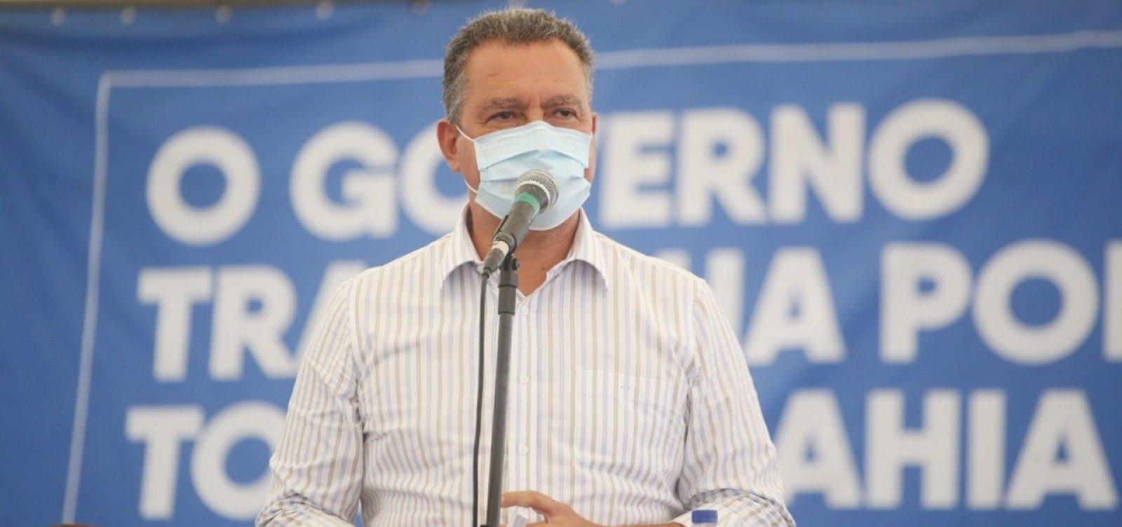 Após taxa de ocupação de UTIs chegar a 80% na Bahia, Rui Costa antecipa toque de recolher: das 20h às 5h
