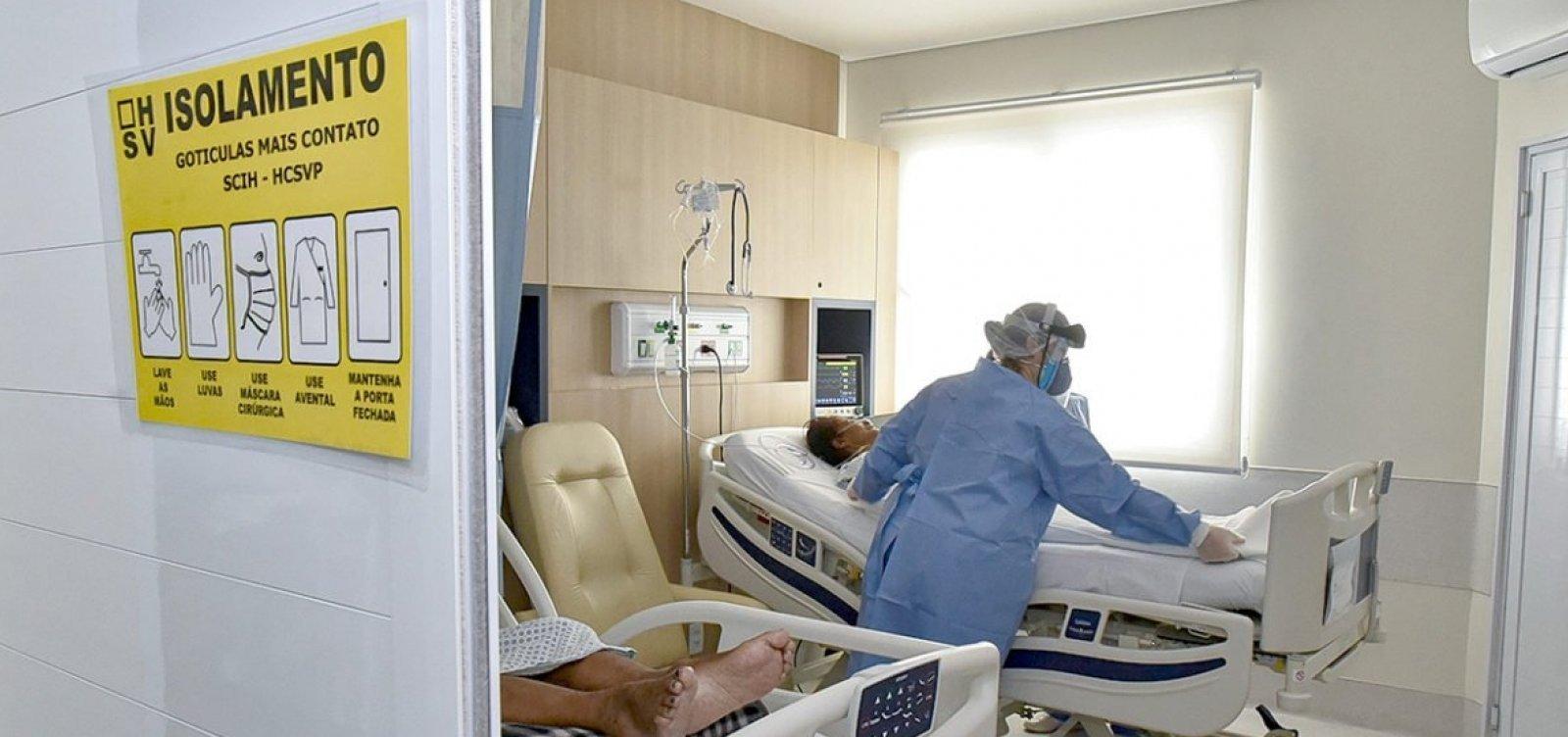 Rede particular de saúde de Salvador em pré-colapso: quatro hospitais têm 100% dos leitos de UTI Covid ocupados