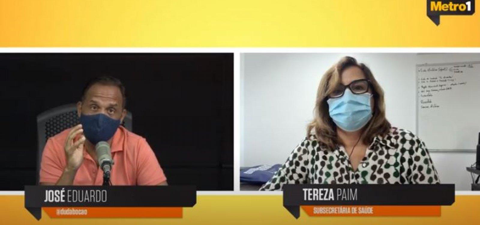 Novas vacinas têm até o início de março para chegar à Bahia, diz subsecretária de Saúde