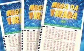 Mega da Virada: apostas podem ser feitas até quinta-feira
