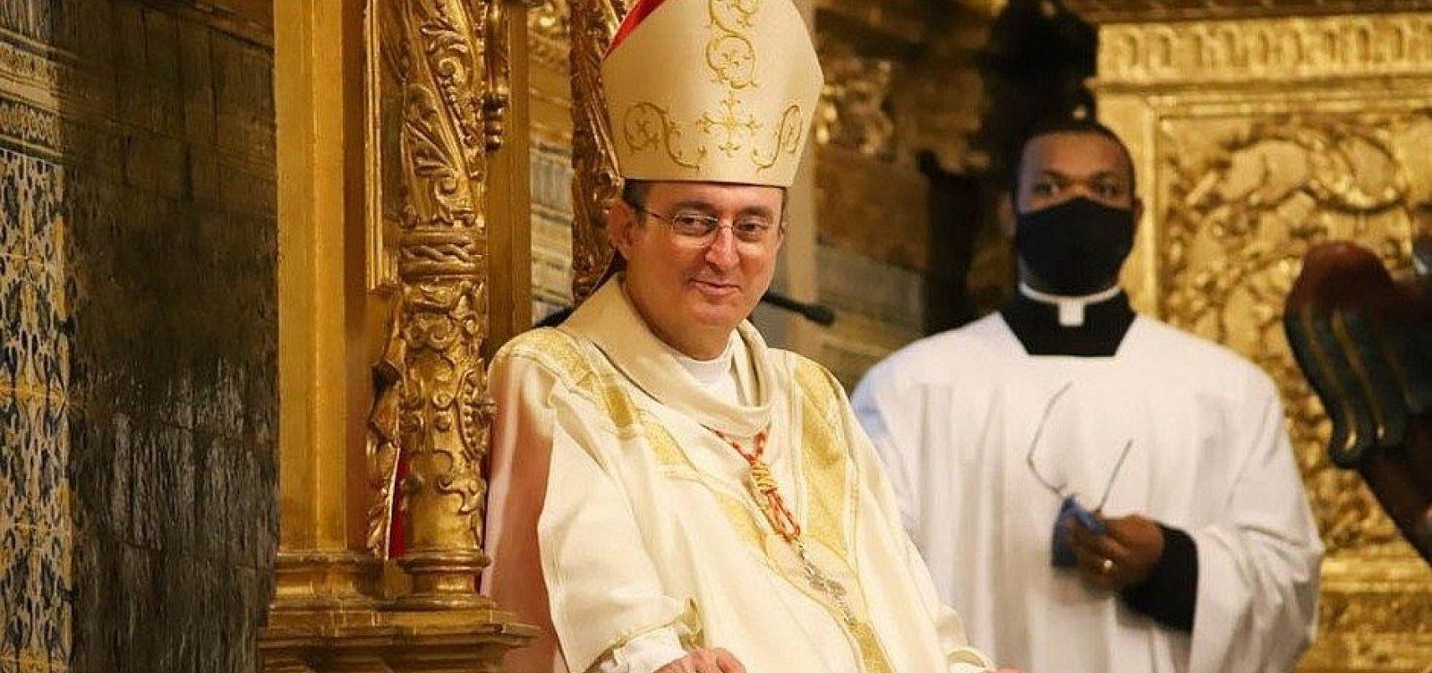 Arcebispo de Salvador divulga determinações para atividades nas igrejas