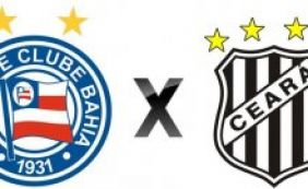 Série B: Bahia busca revanche contra Ceará na Arena Fonte Nova neste sábado