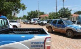 Policiais flagram grupo que tentava fugir de delegacia em Barreiras