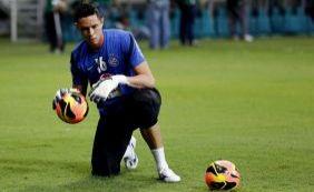 Sem renovar contrato, Omar deixa o Bahia; goleiro envia carta para torcida