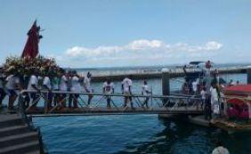 Imagem de Bom Jesus dos Navegantes segue em procissão pela Baía