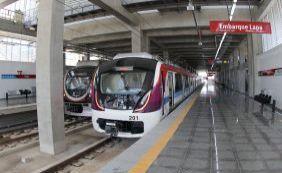 Metrô inicia operação comercial neste sábado; tarifa será de R$ 3,30