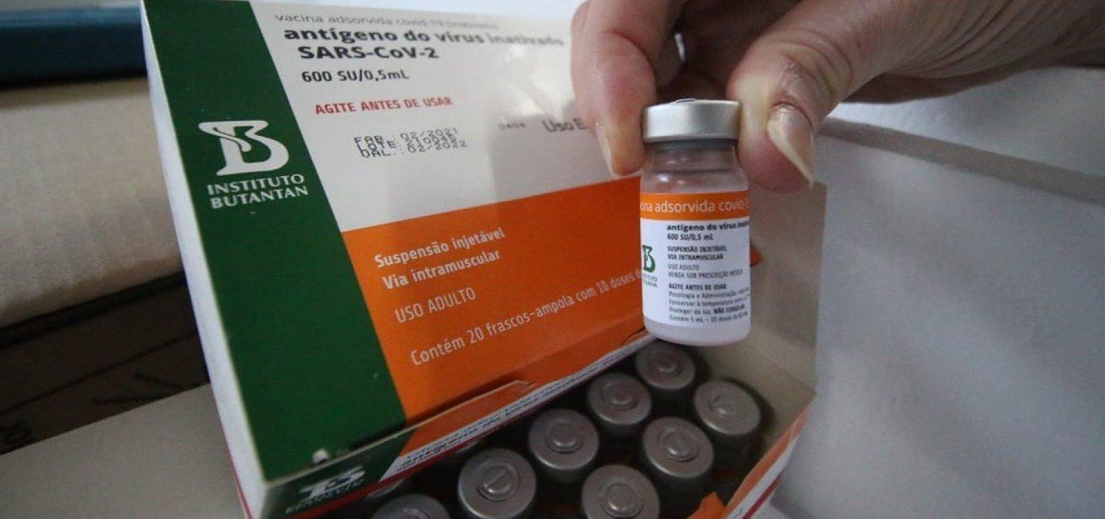Salvador recebe mais de 60 mil novas doses de vacinas contra a Covid-19