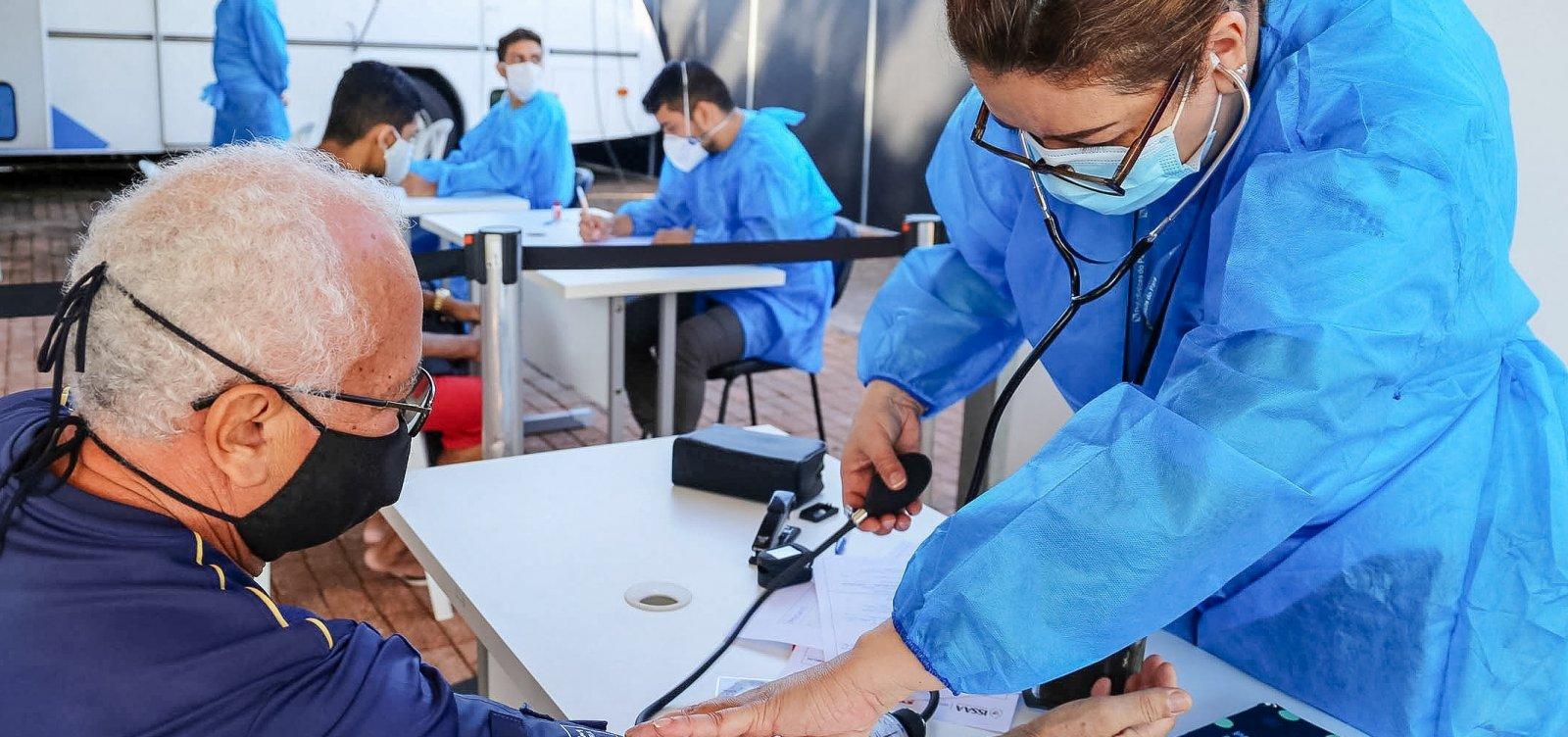 Vacinação para enfermeiros autônomos começa nesta segunda-feira em Salvador