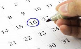 Governo divulga lista de feriados nacionais; confira