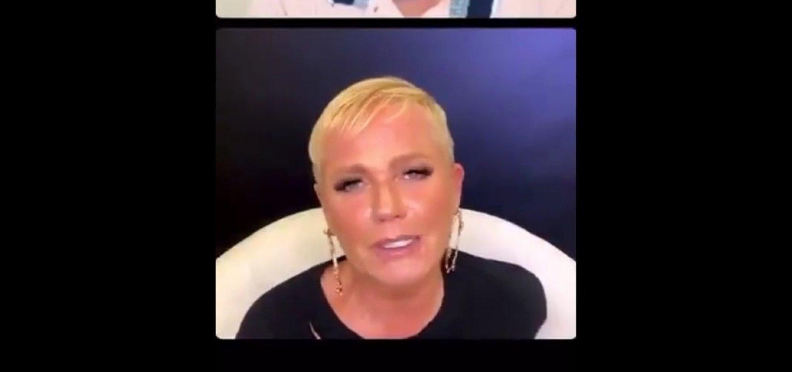 Xuxa sugere usar presos para testes de remédios e, após repercussão negativa, pede desculpas