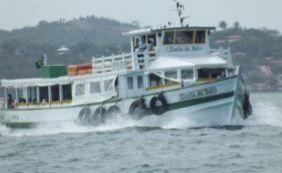 Apesar da forte chuva, travessia Salvador-Mar Grande continua funcionando