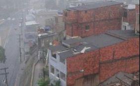 Com chuva e ventos fortes, desabamentos são registrados em Salvador