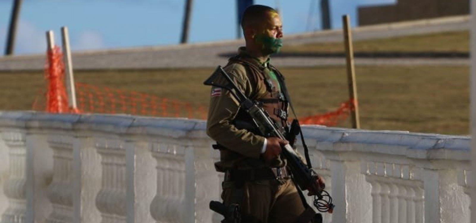 Morre o soldado da PM após surto e tiroteio no Farol da Barra