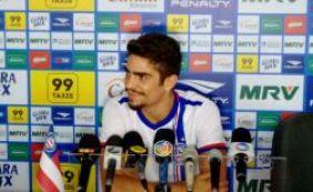 Destaque da Série B pelo Santa Cruz, Luisinho é apresentado no Bahia