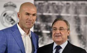 Zinedine Zidane é anunciado como novo treinador do Real Madrid