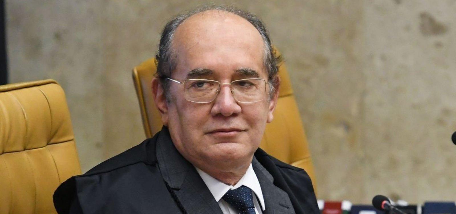 Gilmar Mendes dá 5 dias para Ministério da Justiça explicar uso de lei da ditadura contra críticos de Bolsonaro