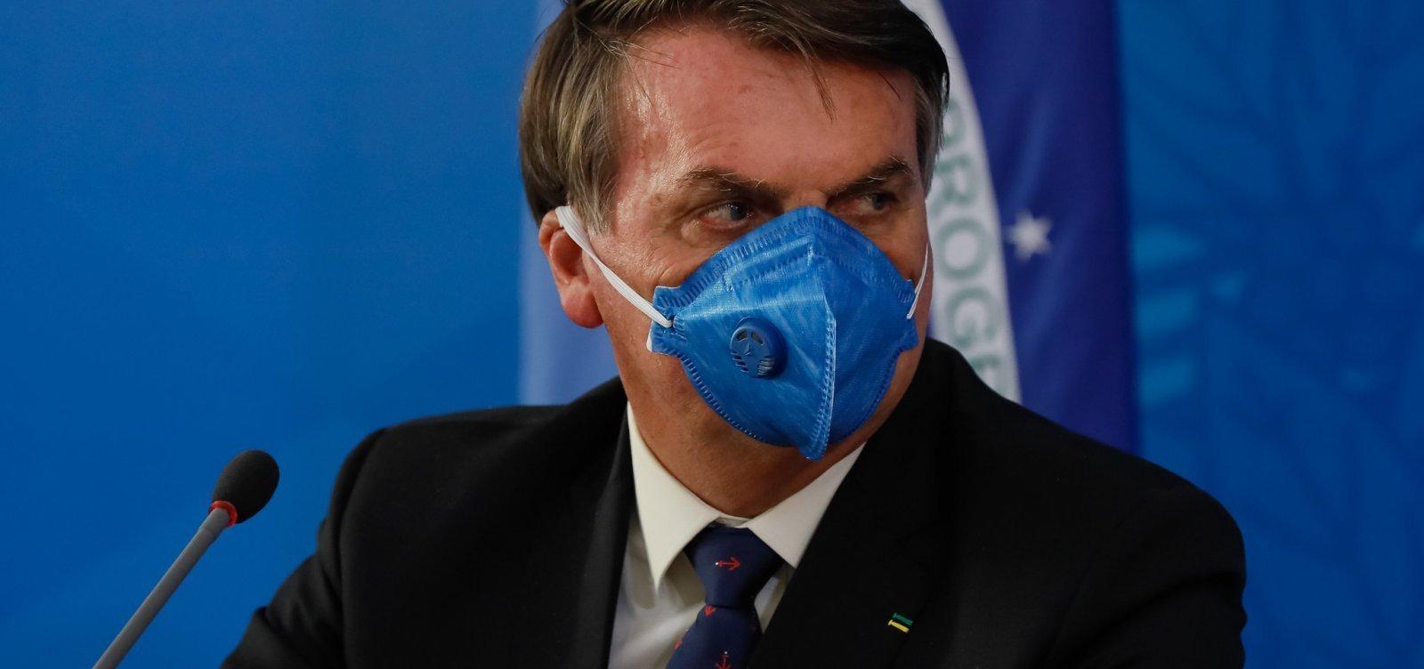 Bolsonaro diz que 'há grande chance' de o Brasil produzir Sputnik V