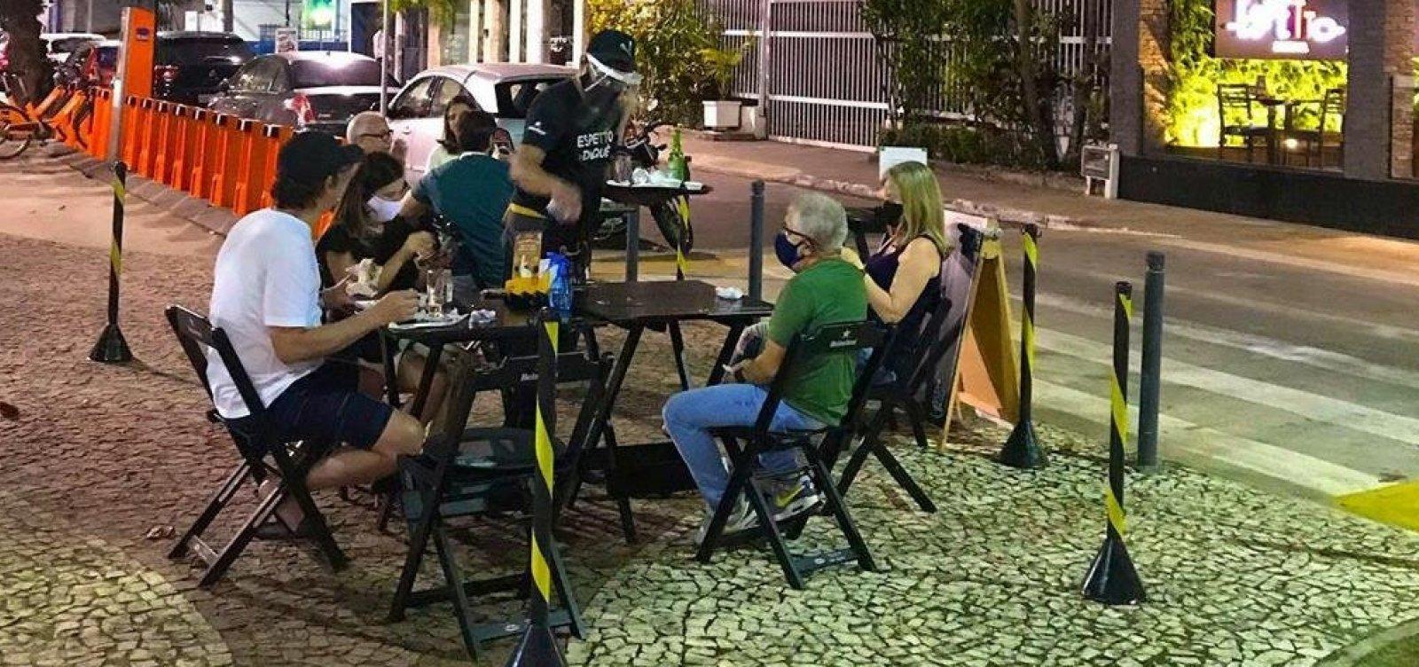Retomada do comércio: bares e restaurantes reabrem nesta quarta em Salvador