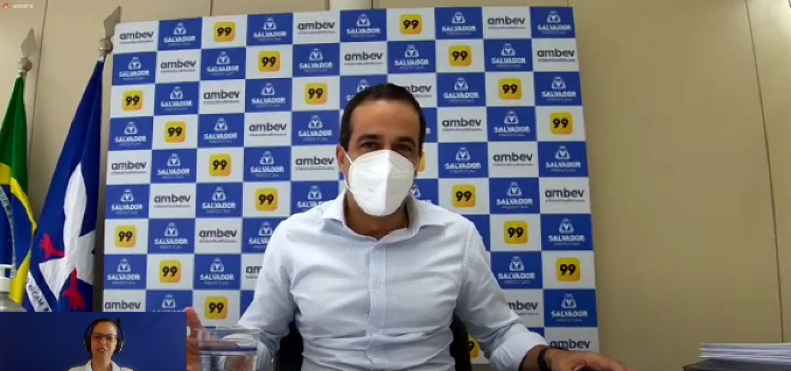 Salvador deve receber 10 mil doses de vacinas contra Covid nesta quinta
