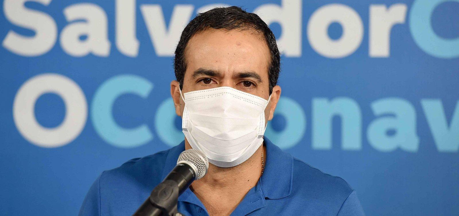 Bruno Reis pede prioridade de vacinação para trabalhadores do transporte público em reunião com Queiroga
