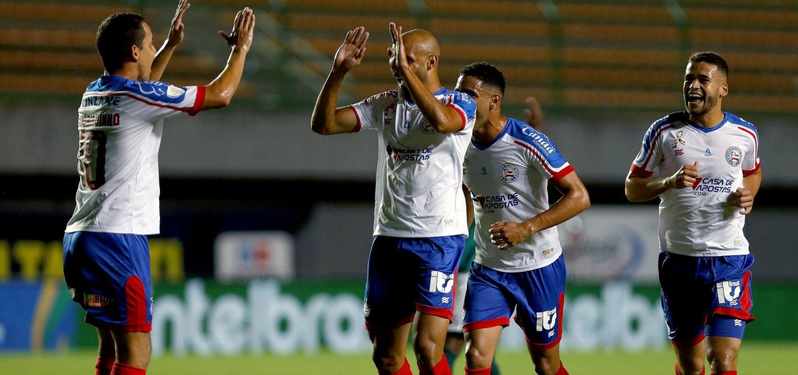 Bahia goleia Manaus por 4 a 1 e avança na Copa do Brasil