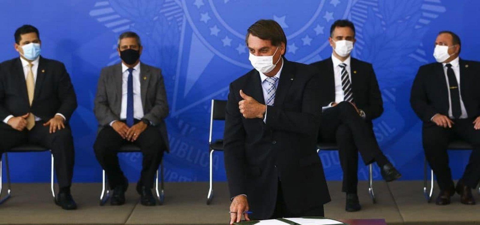 Bolsonaro vê alta 'inadmissível' do gás e ação da Petrobras reage com queda