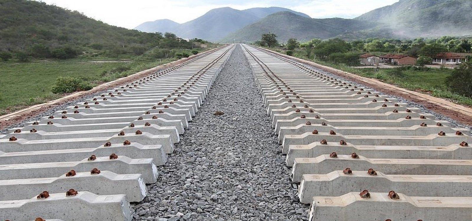 Bamin arremata Ferrovia de Integração Oeste-Leste por R$ 32,7 milhões