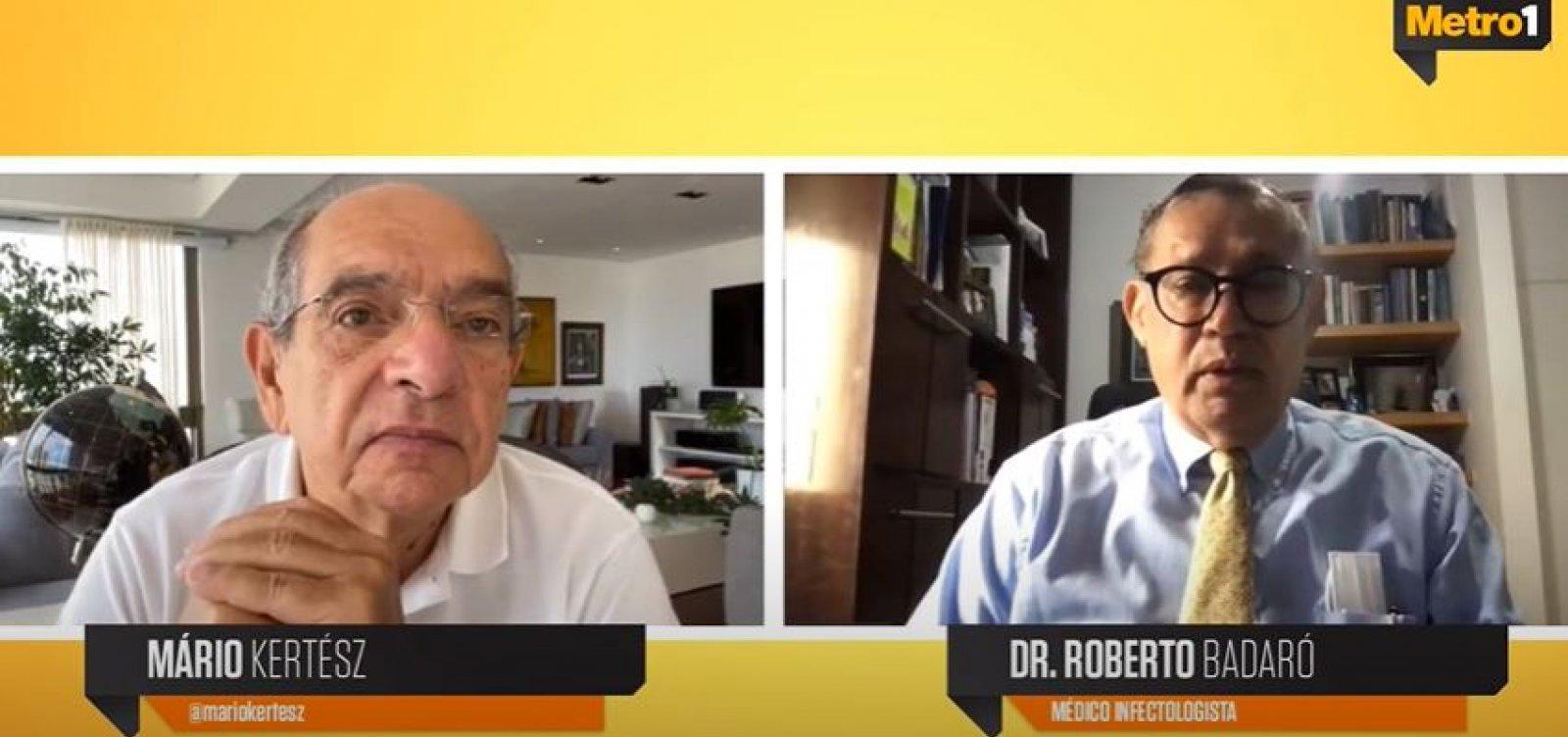 Badaró explica diferenças entre tratamento profilático e precoce contra a Covid-19
