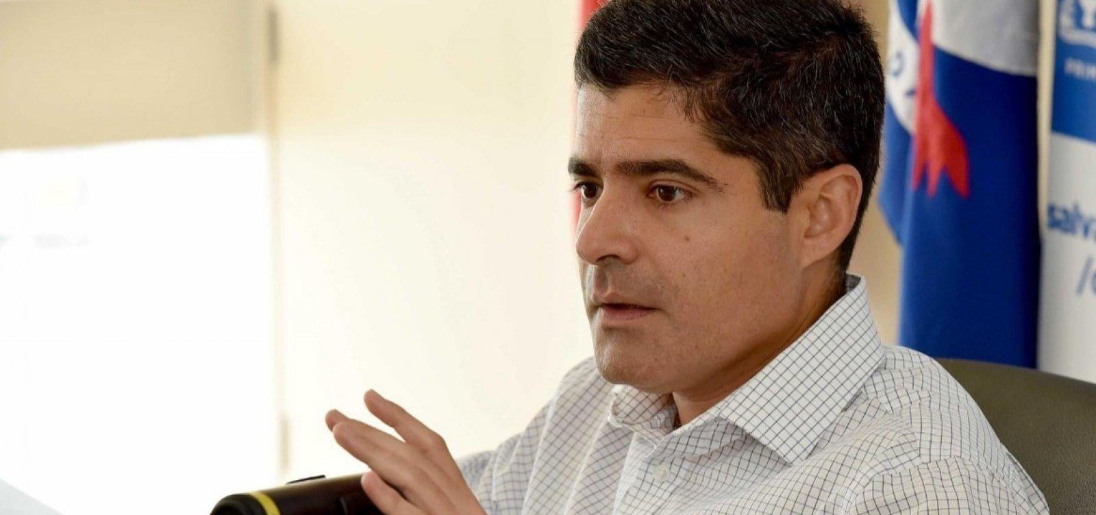 ACM Neto evita comentar atrito com João Roma e diz que 'futuro a Deus pertence'