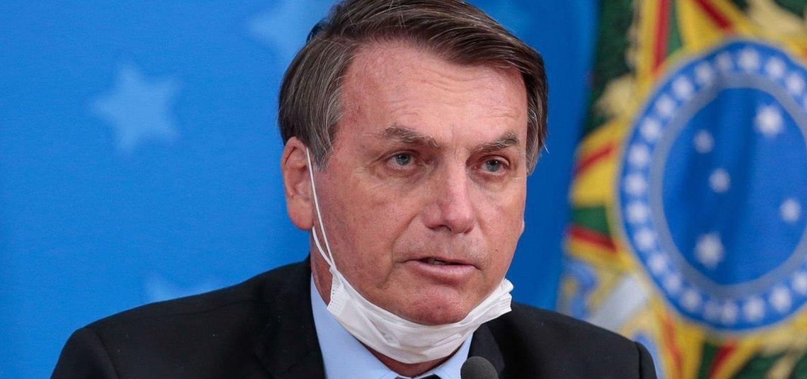 'Falta-lhe coragem moral', diz Bolsonaro sobre Barroso